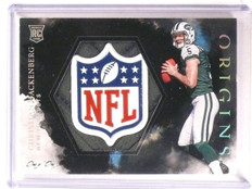2016 Panini Origins Christian Hackenberg 1/1 NFL Shield Patch Rookie *67359