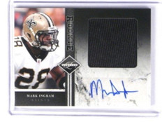 2011 Limited Mark Ingram auto autograph jersey rc rookie #D09/10 #22 *33328