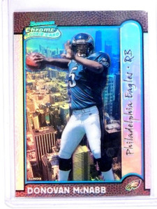 1999 Bowman Chrome Donovan McNabb Interstate RC Refractor #D082/100 #168 *56659