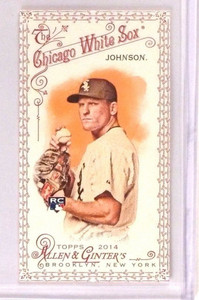2014 Topps Allen and Ginter Mini Red #145 Erik Johnson #d27/33 *45996