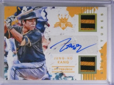 2016 Diamond Kings Signatures Jung-Ho Kang Dual Patch Autograph #D02/10 *65203