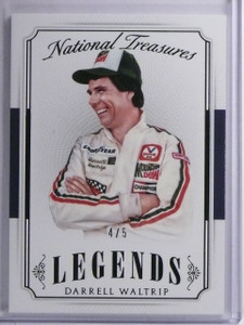 2016 Panini National Treasures Black Darrell Waltrip #D4/5 #40 *65281