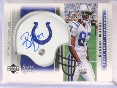 2005 Sweet Spot Signatures Reggie Wayne autograph auto #SS-RW *67576