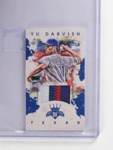 2016 Diamond Kings Minis Yu Darvish Patch #D08/10 #106 *65383