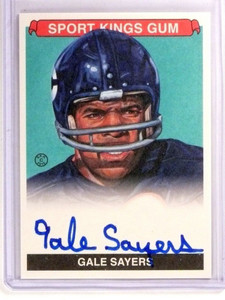 2015 Leaf Sportkings Green Gale Sayers autograph auto #SKS-GS1 sp/15 *53476