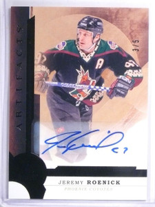 2016-17 Upper Deck Artifacts Black Jeremy Roenick autograph auto #D3/5 *57827