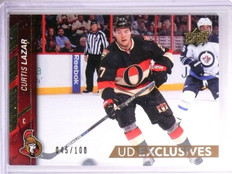 2015-16 Upper Deck Series 2 Curtis Lazar UD Exclusives #D045/100 #390 *54231