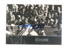 2011 Upper Deck College Legends Ozzie Newsome autograph auto #45 sp! *46402