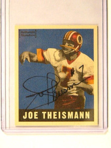 1997 Leaf Reproduction Joe Theismann auto autograph #D1676/1948 #17of25 *41318