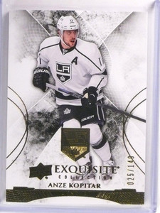 2015-16 Upper Deck Exquisite Anze Kopitar Base Card #D025/149 #14 *53761