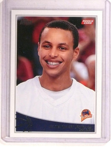 2009-10 Topps Stephen Curry rc rookie #321  *67360