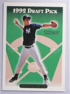 1993 Topps Gold Derek Jeter Rookie RC #98 *65236