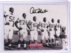 1992 Pro Line Profiles NFL Art Shell Autograph Auto #2 of 9 *56652