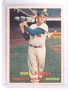 1957 Topps Duke Snider #170 VG-EX *52483