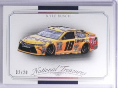2016 Panini National Treasures Silver Kyle Busch's Car #D02/20 #31 *65459