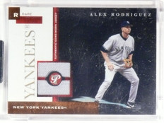 2005 Topps Pristine Personal Pieces Rare Alex Rodriguez jersey #D1/3 *58470