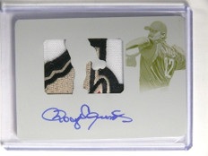 2015 National Treasures Roger Clemens autograph auto patch #D 1/1 *52100