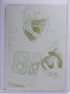 2013 Panini Absolute Printing Plate Yellow Dez Bryant #D1/1 #28 *65312