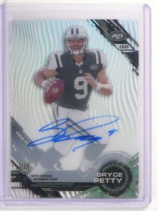 2015 Topps High Tek Bryce Petty autograph auto rc rookie #76 *52395