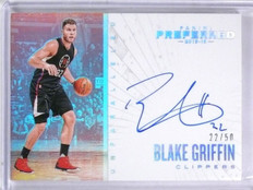 2015-16 Panini Preferred Blake Griffin Unparalleled Autograph #D22/50 #204 *5694