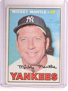 1967 Topps Mickey Mantle #150 GOOD *67364