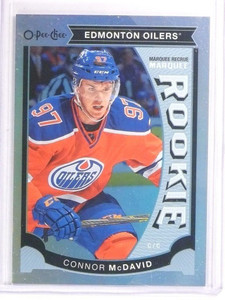 15-16 Upper Deck O-Pee-Chee Marquee foil Connor Mcdavid rc rookie #U11 *53554