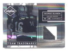 2007 Leaf Limited Team Trademarks George Blanda 2clr patch #D48/50 #TT-28 *39838