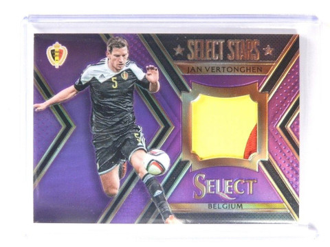 2015 Panini Select Soccer Select Stars Jan Vertonghen 2clr patch #D03/25 *52162
