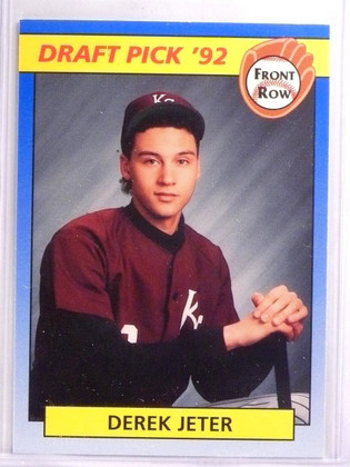1992 Front Row Draft Picks Derek Jeter Rookie RC #55 *55704