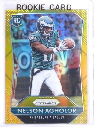 2015 Panini Prizm Prizms Gold Nelson Agholor Rookie RC #D01/10 #272 *60504