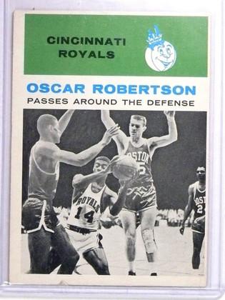 1961-62 Fleer Oscar Robertson IA Rookie RC #61 VG *63933