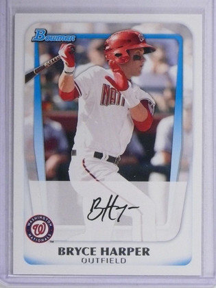 2011 Bowman Prospets Bryce Harper Rookie RC #BP1 *64898