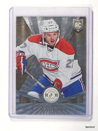 13-14 Totally Certified Mirror Gold Alex Galchenyuk rc rookie #D17/25 #217 *4291