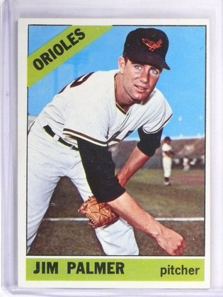 1966 Topps Jim Palmer Rookie RC #126 EX *57539