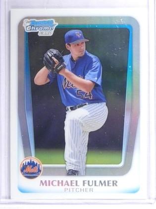 2011 Bowman Chrome Draft Prospects Michael Fulmer Rookie RC #BDPP30 *62472