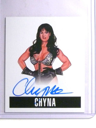 SOLD 14237 2014 Leaf Originals Wrestling Chyna autograph auto #C1 *67663