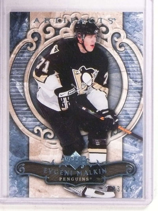 2007-08 Upper Deck Artifacts BLue Evgeni Malkin #D23/25 #16 *68532