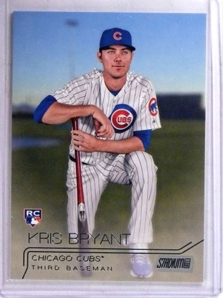 SOLD 15407 2015 Topps Stadium Club Kris Bryant rc rookie #300 *68966