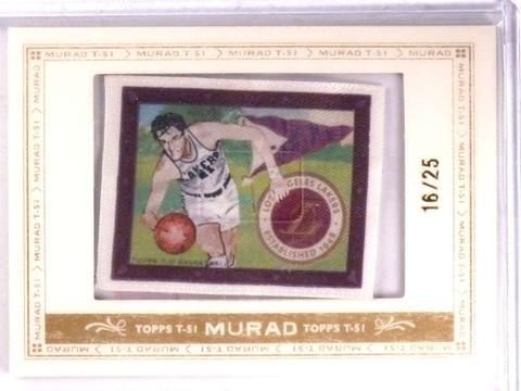 2008-09 Topps Murad T-51 Silk George Mikan #D16/25  *69294