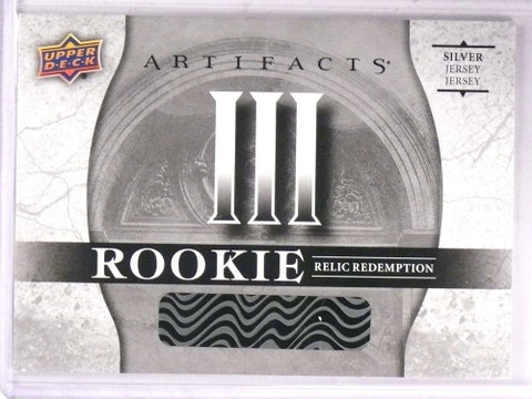 2017-18 Upper Deck Artifacts III Silver Rookie jersey Redemption  *69309