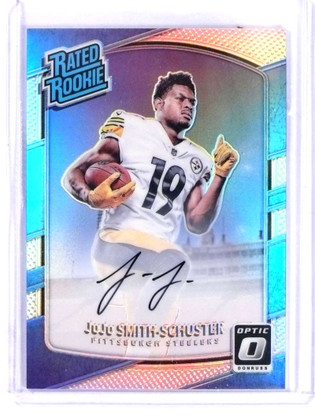 2017 Donruss Optic Holo Juju Smith-Schuster autograph auto rc rookie #/99 *69785