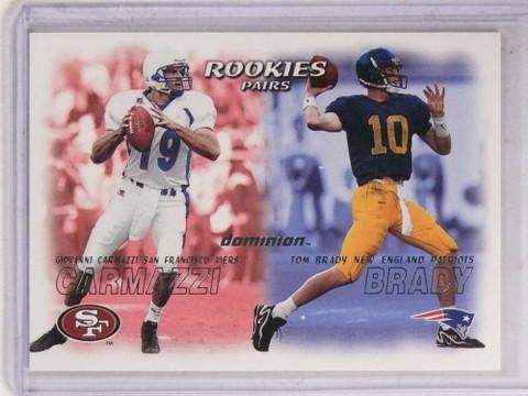 2000 Skybox Dominion Tom Brady rc rookie #234 *69762 ID: 16730