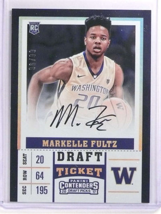 SOLD 17068 2017-18 Panini Contenders Draft Markelle Fultz autograph auto rc #D99/99 *70017