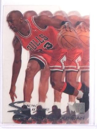 1995-96 Fleer Metal Slick Silver Michael Jordan #3of10 *70058