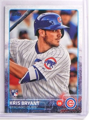 2015 Topps Kris Bryant Rookie RC #616 CUBS *70334