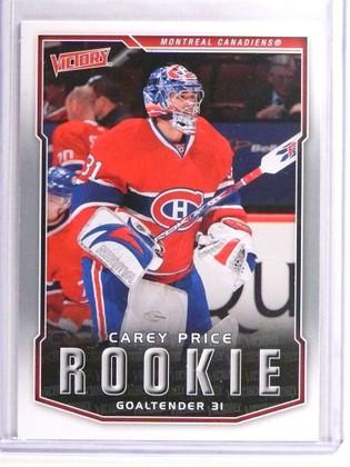 2007-08 Upper Deck Victory Carey Price Rookie RC #303 *70886