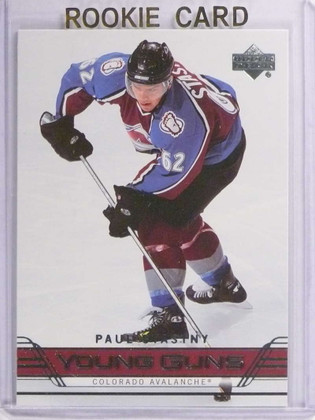 SOLD 17947 2006-07 Upper Deck Paul Stastny Rookie RC YG Young Guns #207 *70911