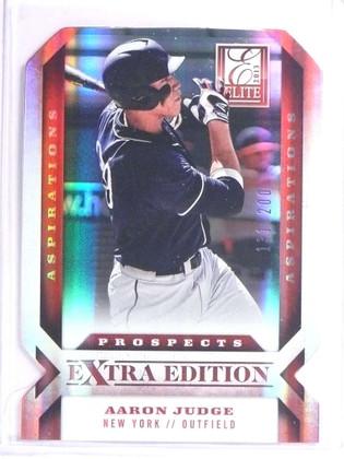 2013 Elite Extra Edition Aspirations Aaron Judge rc rookie #D131/200 #122 *71127