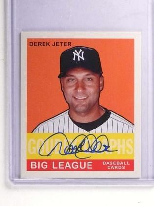 DELETE 18181 2007 Upper Deck Goudey Goudeygraphs Derek Jeter Autograph auto #GGDJ *71301