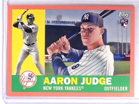 SOLD 18251 2017 Topps Archives Peach Aaron Judge Rookie #D037/199 #62 *71325